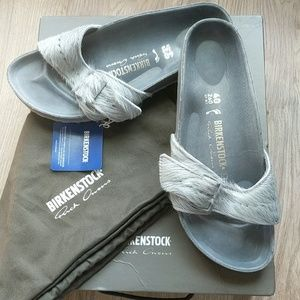 Birkenstock Rick Owens Madrid Fur Sandals EU 40 N